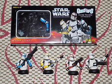 GENTLE GIANT, BUST-UPS, STAR WARS CLONE TROOPER ARMY BUILDER 4 FIGURE SET