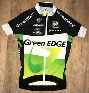 Green EDGE Scott SMS Santini Uci RARE cycling jersey size XS