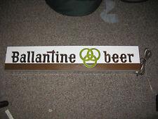 Vintage Ballantine Light Up Beer Sign