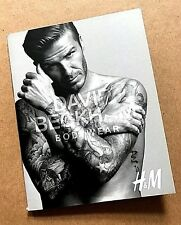 Rare Vintage 2012 H&M David Beckham Bodywear Mini Promotional 24 Page UK Booklet