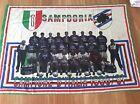 BANDIERA CALCIO STADIO CALCIATORI U.C. SAMPDORIA CAMPIONE D' ITALIA 1990/91