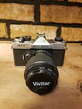 Fujifilm Fujica Az-1 35mm Slr Film Camera And Fujinon-Z 43-75mm Lens. Untested.