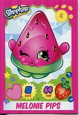 Topps Shopkins Series 1-4 Trading Cards Base Card #11 Melonie Pips