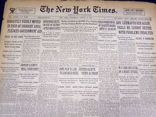 1934 AUGUST 8 NEW YORK TIMES - HINDENBURG RESTS ON SITE OF VICTORY - NT 1602
