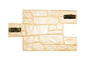 3D Granite Stone Pattern Vertical Decorative Impression Mat Concrete Stamp