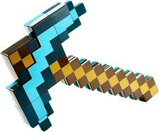 Minecraft Transforming Sword Pickaxe Blue/Green