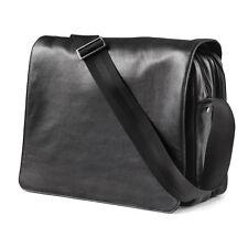 Napa Leather Express Scan Messenger Bag  by Dilana™ - Original Retail $225