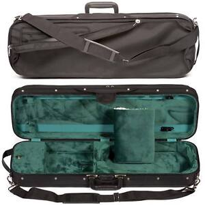 Bobelock 1002 Oblong 3/4 Violin Case: Green Velour Interior - AUTHORIZED DEALER!