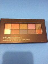 MUA Makeup Academy Professional Metallic Eye Shadow Palette NEW