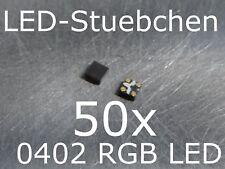 50x 0402 RGB SMD LED 3-Chip