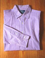 RALPH LAUREN POLO - CLASSIC FIT - CURHAM -  MEN'S DRESS SHIRT - 17 - 36/37