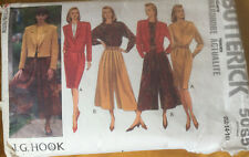 VTG 90s Butterick Sewing Pattern Loose Fit Jacket Blouse Skirt Size 12 14 16