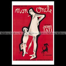 #phpb.000315 Photo MON ONCLE 1958 JACQUES TATI Advert Reprint