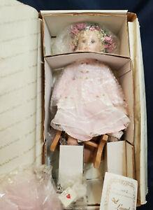 "Vintage Porcelain Doll from The Hamilton Collection ""Laurel"" by Hildegard Gunzel"