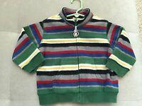 Baby Boy Gymboree Warm Sweatshirt 12-24 Month Blue Green Red White
