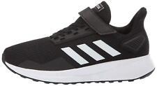 adidas Kid's Duramo 9 Running Shoes, Black/White/Black, Size 13.5 ReB5