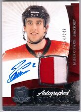 JARED COWEN 2010-11 The Cup Jersey Patch Auto Rookie Card RC /249 #144 10/11