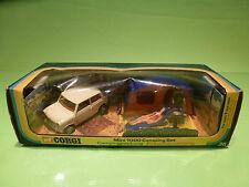 CORGI TOYS 38 MINI 1000 CAMPING SET  1:43? - RARE SELTEN - VERY GOOD IN BOX