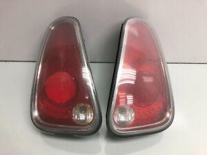 02-08 Mini Cooper R50 R52 R53 REAR LEFT RIGHT TAIL LIGHT LAMP PAIR SET OEM