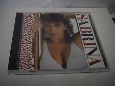 SABRINA SELF-TITILED (1987) S/T JAPAN CD ITALO DISCO EUROBEAT K32Y2107 3200YEN