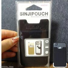 Sinjimoru Card Pouch Case Wallet Clip for iPhone 5 6 7 8 Galaxy S6 S7 Note 6 7 8