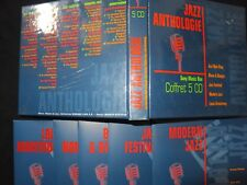 COFFRET 5 CD JAZZ ANTHOLOGIE /