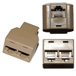 SDOPPIATORE RJ-45 RJ45 DUPLICATORE SPLITTER CAVO di RETE Ethernet INTERNET LAN i