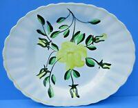 "Vintage Serving Platter Joni Dixie Dogwood Oval Dish 9 X 11.5""   FREE   SHIPPING"