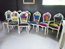 Handmade Fabric Dining Room Chairs