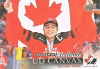 DILLON DUBE 2018-19 UPPER DECK POE PROGRAM OF EXCELLENCE UD CANVAS RC C267