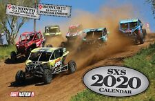 2020 SXS DELUXE WALL CALENDAR side by side polaris rzr atv racing