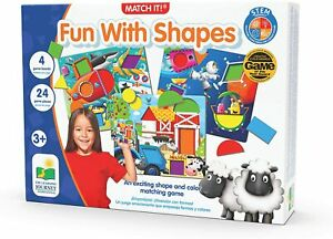 The Learning Journey Match It Fun with Shapes Puzzle Game Set