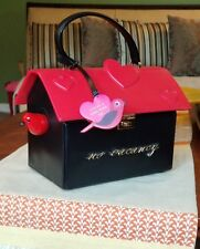 "KATE SPADE ♤ NEW YORK ""OH LA LA 3D RED BIRD"" HANDBAG/CLUTCH IMPOSSIBLE TO FIND"