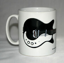 Guitar Mug. Jimmy Page's '61 Danelectro 3021 illustration.