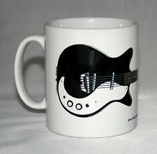 Guitar Mug. Jimmy Page's '61 Danelectro 3021 illustration.