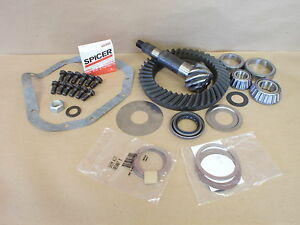 Dana 60 Ring And Pinion 4.56 Ratio Standard Cut Rotation New OEM Spicer Kit