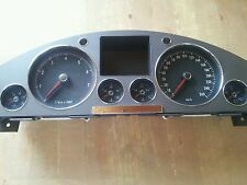 VW Phaeton 3d Tacho / Kombiinstrument 3,2 V6 260km/h 3D0920880J rb4