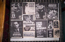 Gangsters 39 TV Guide Ads AL CAPONE,UNTOUCHABLES,ETC.