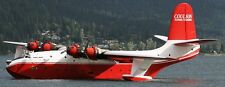 JRM Mars Martin USA Cargo Seaplane Airplane Mahogany Wood Model Large