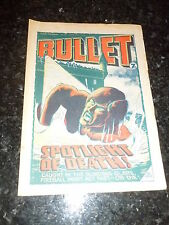 BULLET Comic - Issue 20 - Date 26/06/1976 - UK Paper Comic