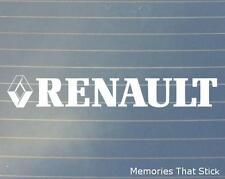 2x Renault espejo coche ventana de parachoques 4x4 Jdm Euro Vw Dub Vinilo calcomanía adhesivo
