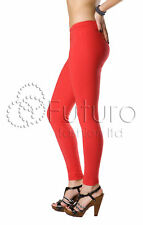 Womens Full Length Cotton Leggings All Sizes and Colors - High Quality