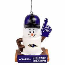 Baltimore Ravens Smores Christmas Tree Holiday Ornament Score Smore Touchdowns