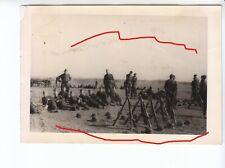 Elitesoldaten Foto Konvolut Übungslager Debica Polen 1944 - TOP RAR