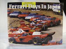 FERRARI DAYS IN JAPAN, NEKO, NEW 1984 HARDBOUND BOOK, SCARCE / BEST OFFER?