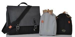 *RRP £105* Brand New Prescott Combi Changing Bag in Charcoal Direct from PacaPod