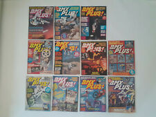 Old school BMX  80's -  Lot 11 magazines BMX PLUS (USA) 1985