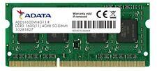 Adata Adds1600w4g11-r - 4gb 1600mhz Ddr3l Cl11 SODIMM 1.35v Retail