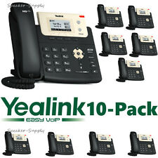 10 Yealink SIP-T21P-E2 Entry Level 2 Line IP Phone HD Voice PoE 10/100 T21P E2