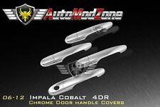 06-13 Chevy Impala 06-11 Cobalt Chrome 4 Door Handle Cover Covers
